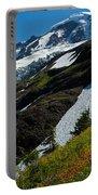 Mount Baker Floral Bouquet Portable Battery Charger