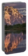 Mount Moran At Sunrise Portable Battery Charger