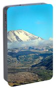 Mount St Helens And Castle Lake Portable Battery Charger