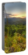 Mountain Evening Portable Battery Charger