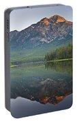 Mountain Reflection, Pyramid Mountain Portable Battery Charger