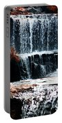 Mountain Stream Waterfall Portable Battery Charger
