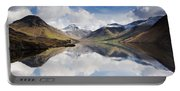 Mountains And Lake, Lake District Portable Battery Charger