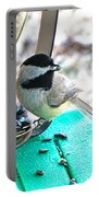 Mouth Full Chickadee Portable Battery Charger
