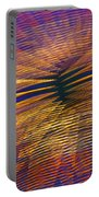 Moving Abstract Lights Portable Battery Charger