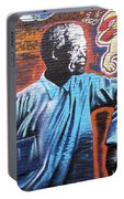 Mr. Nelson Mandela Portable Battery Charger