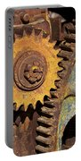 Mud Caked Gears Portable Battery Charger