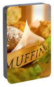 Muffins Fresh And Warm Portable Battery Charger