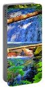 Multnomah Falls Oregon Portable Battery Charger