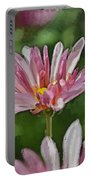 Mum Is In The Pink Digital Painting Portable Battery Charger