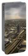 Munich From Above - Vintage Part Portable Battery Charger