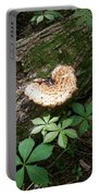 Mushroom Heart Forest Portable Battery Charger