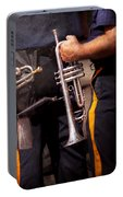 Music - Trumpet - Police Marching Band  Portable Battery Charger