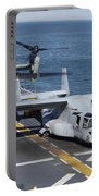 Mv-22 Osprey Tiltrotor Aircraft Portable Battery Charger