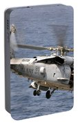 N Hh-60h Sea Hawk Helicopter In Flight Portable Battery Charger