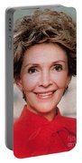 Nancy Reagan, 40th First Lady Portable Battery Charger by Photo Researchers