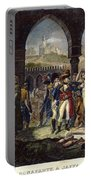 Napoleon In Jaffa, 1799 Portable Battery Charger
