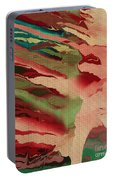 Native Abstract Weave Portable Battery Charger