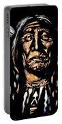 Native American Elder Portable Battery Charger