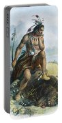 Native American Hunter Portable Battery Charger