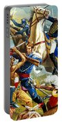Native American Indians Vs American Soldiers Portable Battery Charger