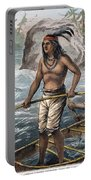Native Americans/fishing Portable Battery Charger