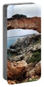 Natural Bridge - Cape Gkreko - Cyprus Portable Battery Charger