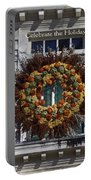 Natural Wreath Portable Battery Charger
