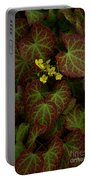 Nature's Still Life Of Epimedium Portable Battery Charger