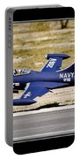 Navy Landing Portable Battery Charger
