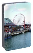 Navy Pier Chicago Summer Time Portable Battery Charger