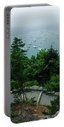 Ne Harbor Maine Seen From Thuya Gardens Mt Desert Island  Portable Battery Charger