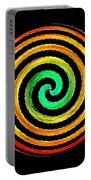 Neon Spiral Portable Battery Charger