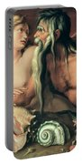 Neptune And Amphitrite Portable Battery Charger by Jacob II de Gheyn