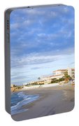 Nerja Beach On Costa Del Sol Portable Battery Charger