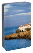 Nerja Coastline In Spain Portable Battery Charger