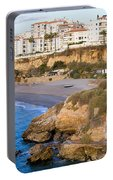 Nerja Town On Costa Del Sol Portable Battery Charger