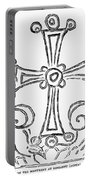 Nestorian Cross, 781 A.d Portable Battery Charger