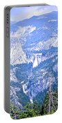 Nevada And Vernal Falls Portable Battery Charger