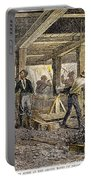 Nevada Silver Mine, C1880 Portable Battery Charger