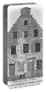 New Amsterdam: House, 1626 Portable Battery Charger