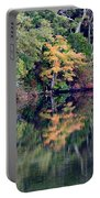 New England Fall Reflection Portable Battery Charger