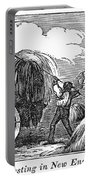 New England: Harvest, 1830 Portable Battery Charger