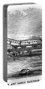 New Jersey: Train Wreck Portable Battery Charger