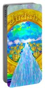 New Jerusalem Closeup - City Of God's Kingdom On Earth Portable Battery Charger