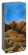 New Mexico Highlands In Spring Portable Battery Charger