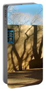New Mexico Series - Shadows On Adobe Portable Battery Charger