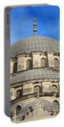 New Mosque Domes In Istanbul Portable Battery Charger