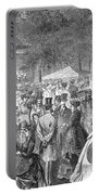 New York: Bandstand, 1869 Portable Battery Charger