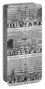 New York: Broadway, 1851 Portable Battery Charger